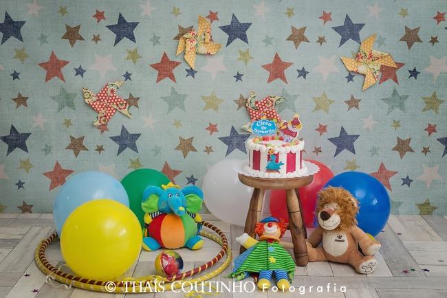cenario smash the cake circo