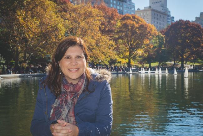central park outono