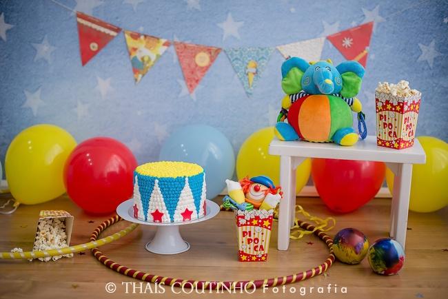 Smash the Cake Circo do Igor