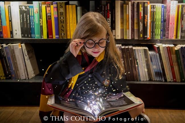 Ensaio Infantil – Livraria e Harry Potter