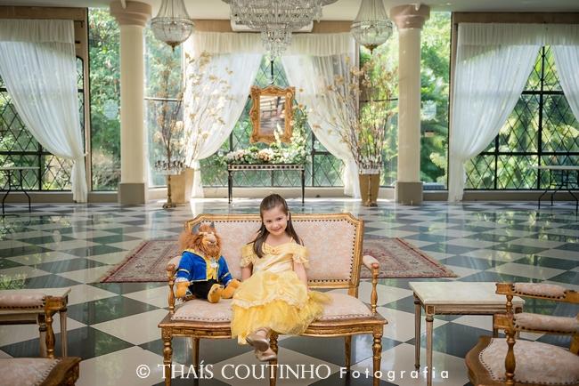 Ensaio Infantil Princesa no Castelo