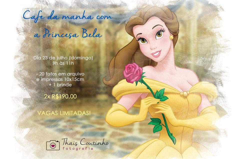 Evento Fotográfico – Café da Manhã com Princesa