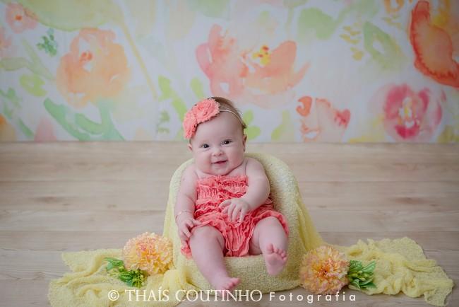 Ensaio Baby 4 meses