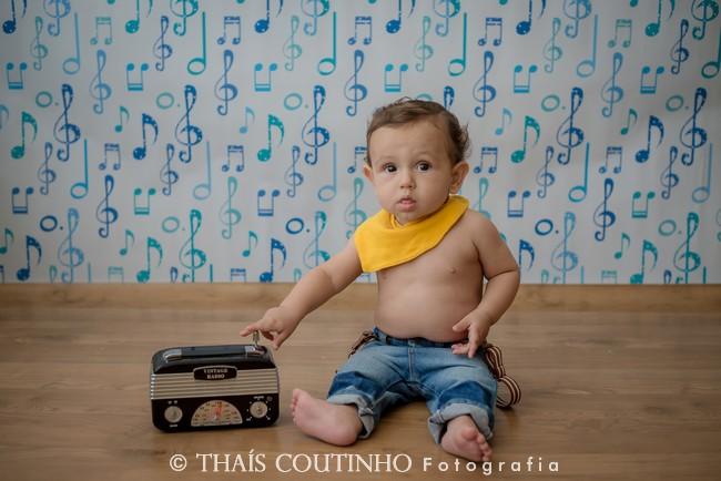 ensaio fotos bebe menino musica