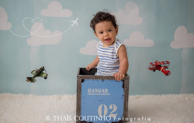ensaio fotos bebe menino avioes