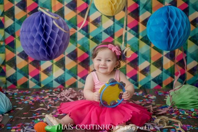 Folia Colorida na Mini Sessão de Carnaval