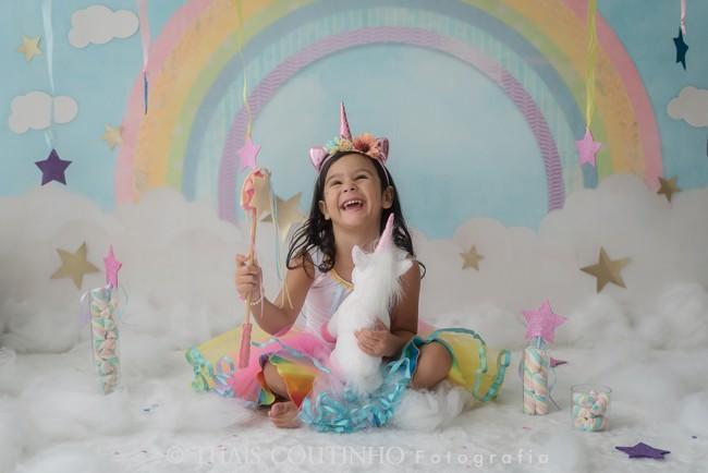 sessao fotos infantil unicornio
