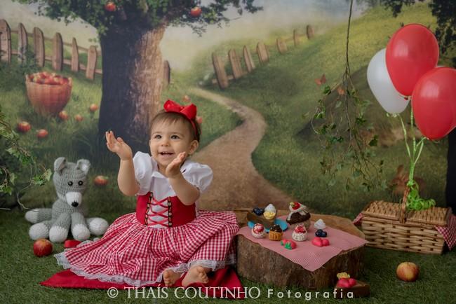 ensaio fotografico chapeuzinho vermelho picnic