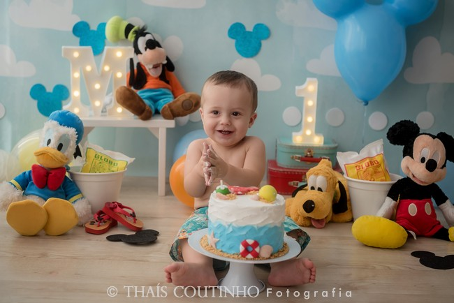 Smash the Cake – Turma do Mickey na Praia