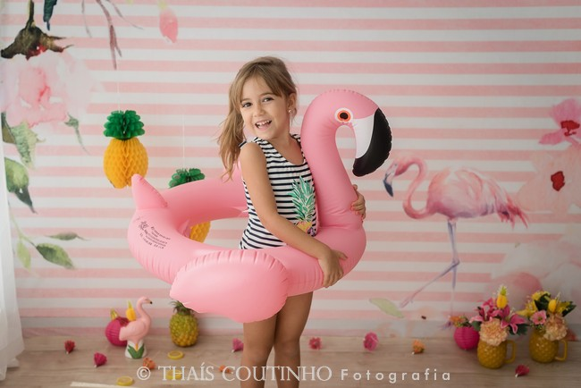 Mini Sessão Encantada Flamingo