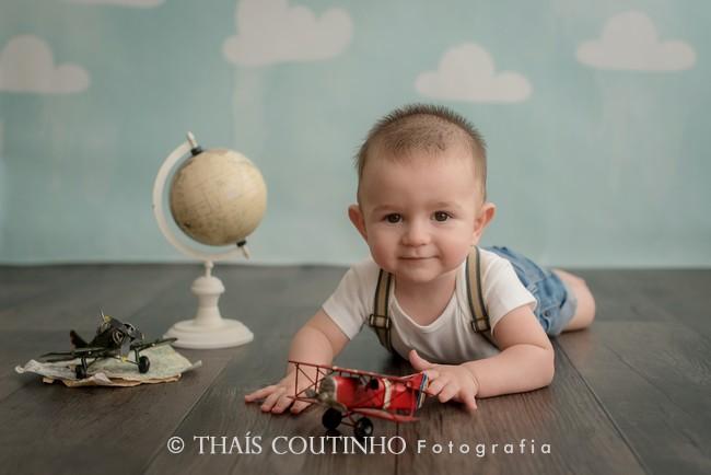 Ensaio Bebê 6 meses, menino e menina