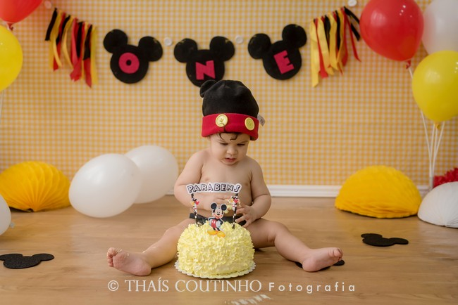 smash the cake mickey rj