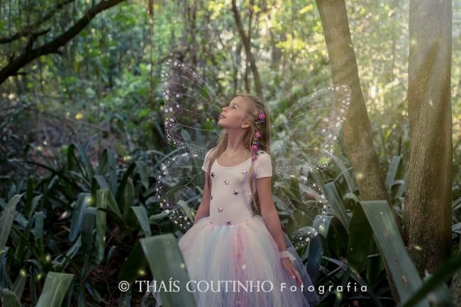 Encanto e Magia no Ensaio Fotográfico Fada